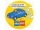 Gear No: LWSstk83de1  Name: Sticker, Lego World Show 1983 VW Beetle