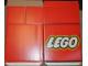 Gear No: Legocube02  Name: Display Carton Cube, Medium LEGO Logo