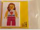 Gear No: MAGDE001  Name: Magnet Flat, Minifigure I Brick LEGOLAND Female