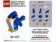 Gear No: MMMB1305DE  Name: Mini-Modell des Monats-Karte - 2013 05 Mai, Blauer Vogel