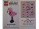 Gear No: MMMB1308DE  Name: Mini-Modell des Monats-Karte - 2013 08 August, Flamingo