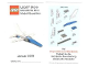 Gear No: MMMB1901DE  Name: Mini-Modell des Monats-Karte - 2019 01 Januar, Jet Fighter