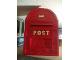 Gear No: Mailbox  Name: Post Box Mailbox Red (Glued)