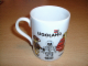 Gear No: MinifigMug  Name: Food - Cup / Mug, Legoland Windsor, 7 Minifigs Pattern
