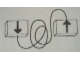 Gear No: Mx7770  Name: Modulex Time Indicator for Baseboards with Arrows Pattern