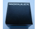 Gear No: MxBox11  Name: Modulex Storage Box Black 1 x 1 (Empty)