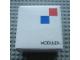 Gear No: MxWBox11  Name: Modulex Storage Box White 1 x 1 with New Logo