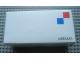 Gear No: MxWBox12  Name: Modulex Storage Box White 1 x 2 with New Logo