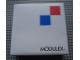 Gear No: MxWBox22  Name: Modulex Storage Box White 2 x 2 with New Logo