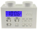 Gear No: N10746  Name: Alarm Clock Radio - White