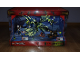 Gear No: NinjagoBox03  Name: Display Assembled Set, Ninjago Sets 70733 and 70736 in Plastic Case with Light
