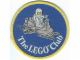 Gear No: Patch06  Name: Patch, Sew-On Cloth Round, The Lego Club (Classic Space)