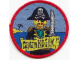 Gear No: Patch09  Name: Patch, Sew-On Cloth Round, Lego System Captain Roger