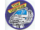 Gear No: Patch11  Name: Patch, Sew-On Cloth Round, The Lego Club (6990 Space Monorail Train)