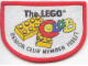 Gear No: Patch13  Name: Patch, Sew-On Cloth, The Lego Club (Senior Member 1996 / 1997)