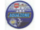 Gear No: Patch15  Name: Patch, Sew-On Cloth Round, Lego System Aquazone