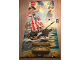 Gear No: PirBan2  Name: Display Flag Cloth, 4 Juniors - Captain Redbeard's Pirate Ship