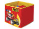 Gear No: SD336red  Name: Textile Toy Bin 20 x 20 x 20 Fire Red