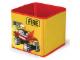 Gear No: SD336yellow  Name: Textile Toy Bin 20 x 20 x 20 Fire Yellow