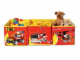 Gear No: SD471red  Name: Connectable Toy Bin Set - Red Fire Pattern