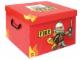 Gear No: SD535red  Name: Storage Box XXL Fire Red 33 x 33.5 x 25.5