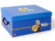 Gear No: SD536blue  Name: Storage Box XL Police Blue 39.5 x 29.5 x 18.5