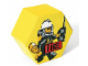 Gear No: SD656yellow  Name: Storage Jar Fire Yellow 19.5 x 19.5 x 11.5