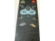 Gear No: SWCBan1  Name: Display Flag Cloth, Star Wars Classic with large Darth Vader (shows 7110, 7128, 7130, 7140, 7150, )