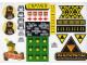 Gear No: TLCUK07  Name: Sticker, The Lego Club UK Sheet 07
