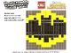 Gear No: TRUBatShield  Name: Toys R Us Exclusive Build Instructions: Batman Shield