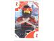 Gear No: TRUTC02  Name: Toys 'R' Us Trading Card Various Themes - No.  2 - The LEGO Ninjago Movie - 2 Kai