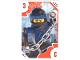 Gear No: TRUTC03  Name: Toys 'R' Us Trading Card Various Themes - No.  3 - The LEGO Ninjago Movie - 3 Jay