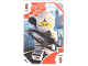 Gear No: TRUTC06  Name: Toys 'R' Us Trading Card Various Themes - No.  6 - The LEGO Ninjago Movie - 6 Zane