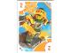 Gear No: TRUTC12  Name: Toys 'R' Us Trading Card Various Themes - No. 12 - Nexo Knights - 2 Aaron