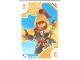 Gear No: TRUTC13  Name: Toys 'R' Us Trading Card Various Themes - No. 13 - Nexo Knights - 3 Macy