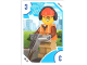 Gear No: TRUTC23  Name: Toys 'R' Us Trading Card Various Themes - No. 23 - City - 3 Bauarbeiter / Building Worker