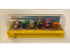 Gear No: ToyStoryBox01  Name: Display Assembled Minifigures, Toy Story 6 Minifigures with Magnifier in Plastic Case