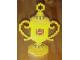 Gear No: TrophyCup  Name: Trophy Cup with LEGO Logo Pattern (Glued)
