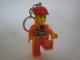 Gear No: UT21215  Name: LED Key Light Construction Worker Key Chain (LEDLite)