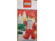 Gear No: XmasBan08  Name: Display Flag Cloth, Santa with Trees