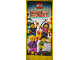 Gear No: XmasBan26  Name: Display Flag Cloth, Minifigures with Christmas Gifts (Russian)