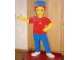 Gear No: boylogo  Name: Boy with Lego Logo on Shirt (Glued)