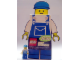 Gear No: cal02daily  Name: Calendar, 2002 Lego Daily Calendar - Overalls Blue