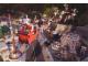 Gear No: cc07llc  Name: Christmas Card - 2007 Legoland California, Santa Flying over Miniland Las Vegas