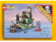 Gear No: cc93lbc4  Name: Collector Card - 1993 Card Rock Island Refuge - Lego Builders Club