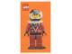 Gear No: cc97lbc6  Name: Collector Card - 1997 Card Diver Dan - Lego Builders Club
