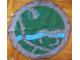 Gear No: cloth03  Name: Storage Cloth, Castle Landscape Dark Green