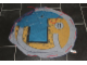 Gear No: cloth10  Name: Storage Cloth, City Harbor Boat Dock, Blue Reverse