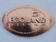 Gear No: coin45  Name: Pressed Euro Five Cent Piece - Legoland Billund Pattern