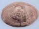 Gear No: coin52  Name: Pressed Euro Five Cent Piece - Legoland Günzburg Pirate Head Pattern